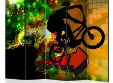 Paraván - Bicycle Tricks II [Room Dividers]